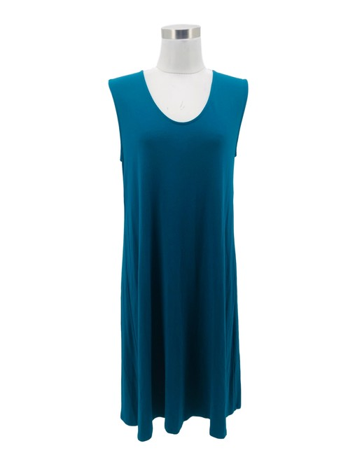 Item - Teal Green N461 Designer Small 6 Shift Mid-length Short Casual Dress Size 4 (S)