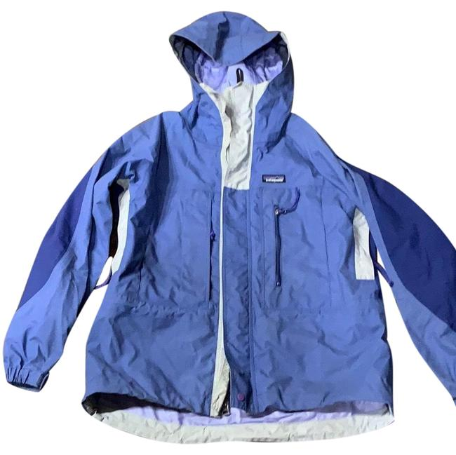Item - Blue Purple Rain Jacket Size 4 (S)