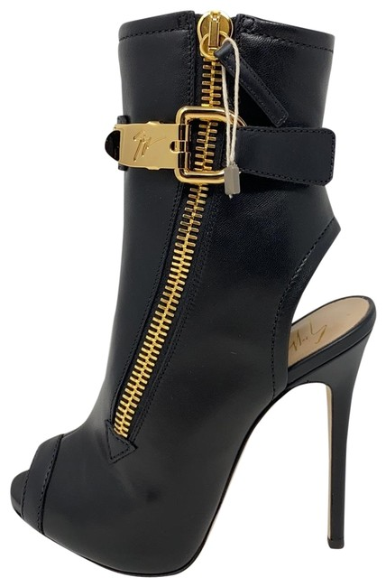 Item - Gold Black New Boots/Booties Size EU 35 (Approx. US 5) Regular (M, B)