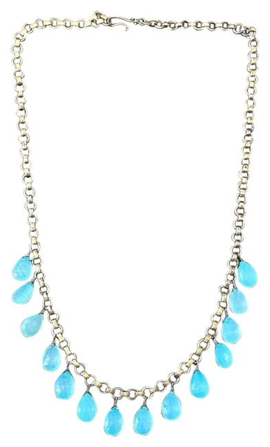 Item - Gold and Blue Necklace