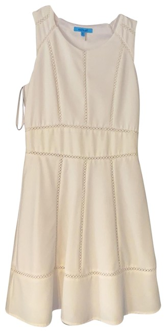 Item - White Classic Short Casual Dress Size 4 (S)