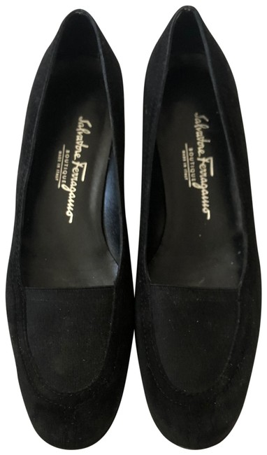 Item - Black Suede Leather Womens Driving Loafers Flats Size US 9 Regular (M, B)