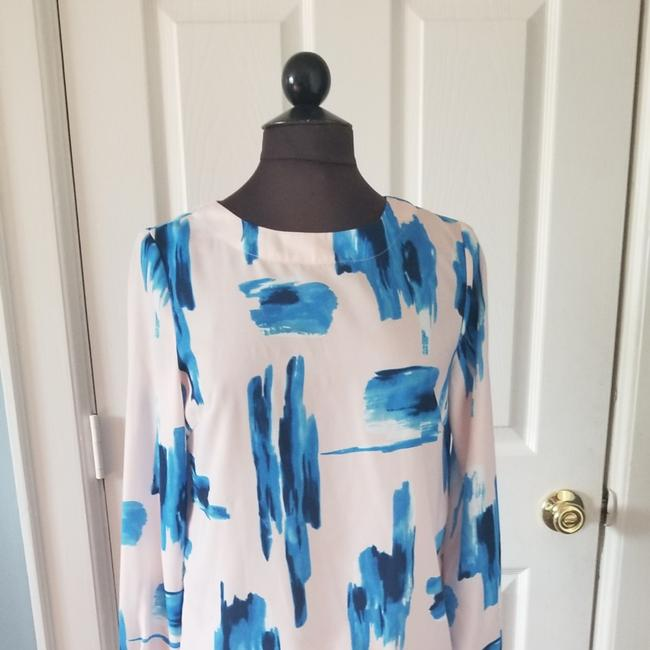 Item - Pink Brush Strokes Blouse Size 8 (M)