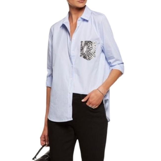 Preload https://img-static.tradesy.com/item/28062978/equipment-blue-white-blouse-button-down-top-size-4-s-0-0-650-650.jpg
