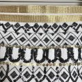 May & July Black White Gold Geometric Sequin Skirt Size 8 (M, 29, 30) May & July Black White Gold Geometric Sequin Skirt Size 8 (M, 29, 30) Image 2