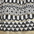 May & July Black White Gold Geometric Sequin Skirt Size 8 (M, 29, 30) May & July Black White Gold Geometric Sequin Skirt Size 8 (M, 29, 30) Image 7