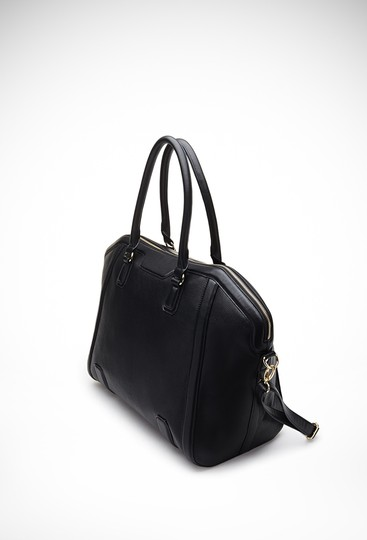 Other Pebbled Faux Weekender Cross Body Bag