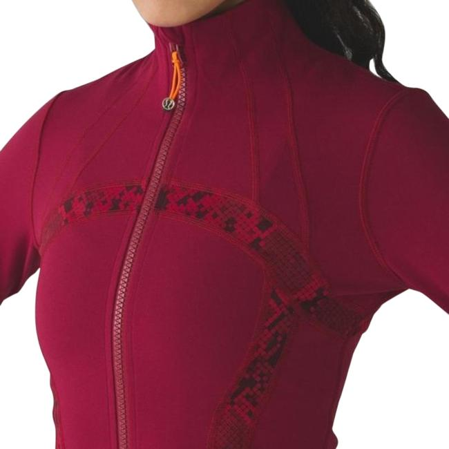 Item - Red Tide Cranberry Define Ziggy Snake Activewear Outerwear Size 2 (XS)