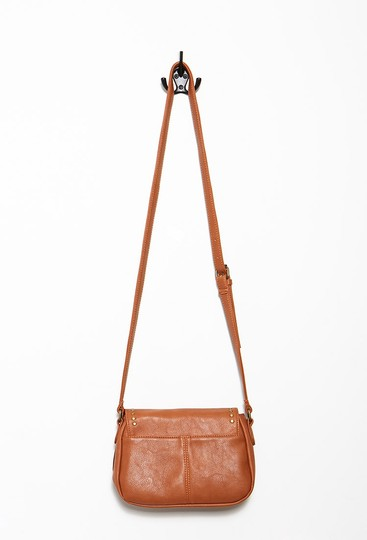 Other Studded Faux Leather Cross Body Bag