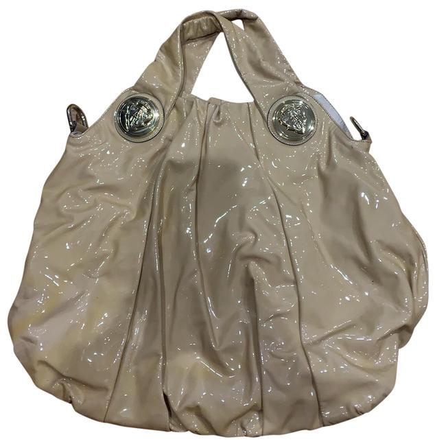 Item - Hysteria Nude Patent Leather Hobo Bag
