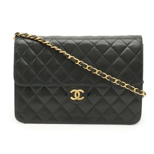 Preload https://img-static.tradesy.com/item/28065132/chanel-chain-coco-mark-matrasse-single-lambskin-gold-hardware-black-leather-shoulder-bag-0-0-540-540.jpg