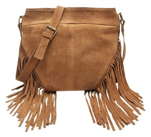 Other Fringed Suede Cross Body Bag