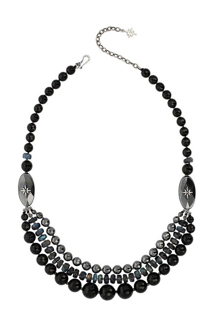 Item - Onyx New Mix Pre-layered Necklace
