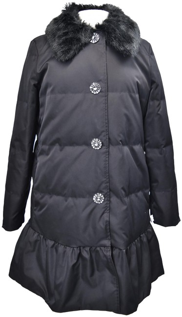 Item - Black Quilted Small (6) Coat Size 6 (S)
