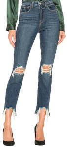 L'AGENCE Skinny Jeans-Distressed