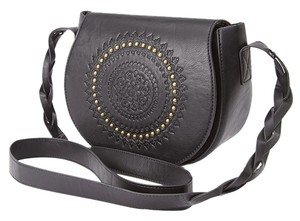 Other Embossed Faux Cross Body Bag