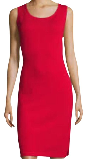 Item - Red Mid-length Night Out Dress Size 6 (S)