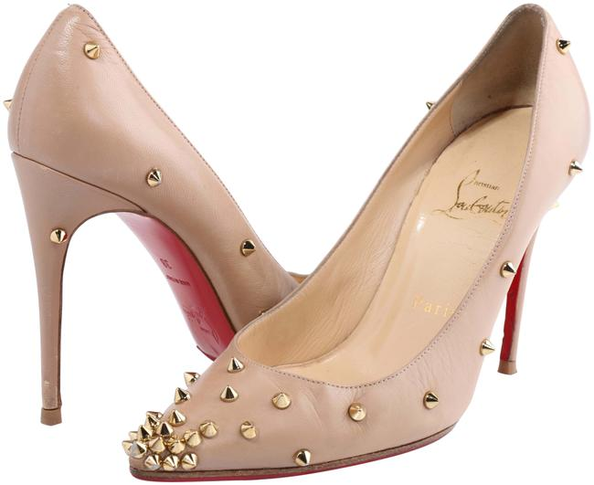 Item - Nude Pigalle Spikes Studded Leather Pumps Size US 8 Narrow (Aa, N)
