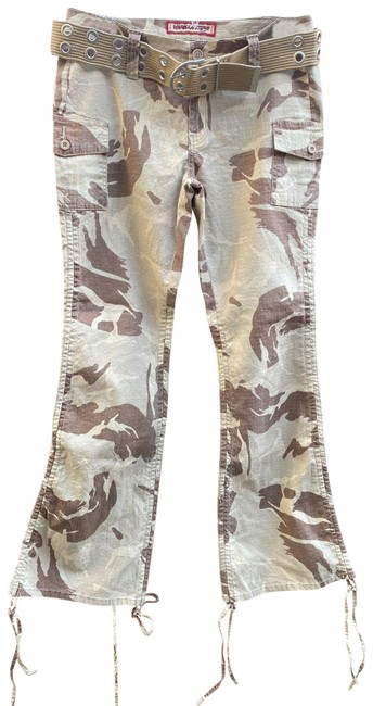 Item - Tan and Brown Camouflage Pants Size 8 (M, 29, 30)