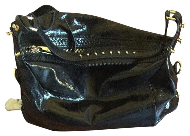 Item - Black Patent Leather Hobo Bag