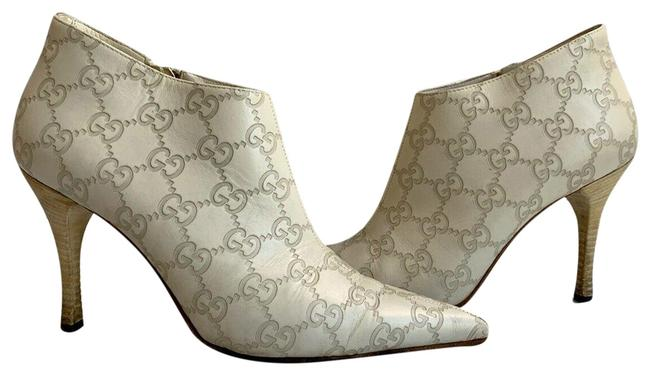 Item - Off White ssima Leather Ankle 146751 Boots/Booties Size US 6 Wide (C, D)