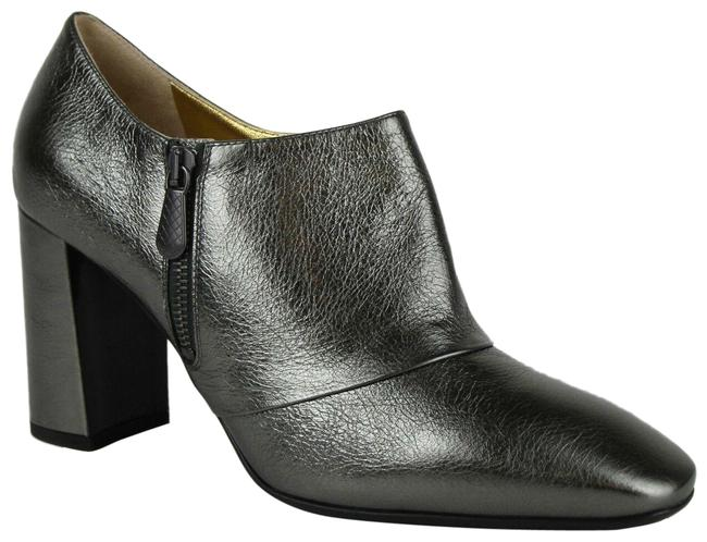 Item - Grey Women Metallic Leather Ankle It 39.5/Us 9.5 443175 1117 Boots/Booties Size EU 39.5 (Approx. US 9.5) Regular (M, B)