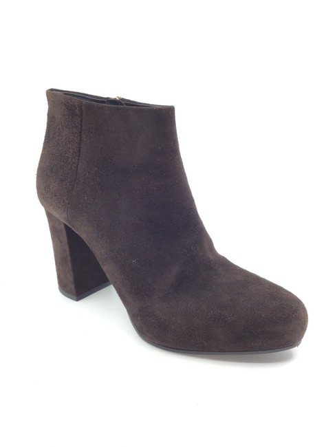 Item - Brown Suede Ankle Boots/Booties Size US 9.5 Regular (M, B)