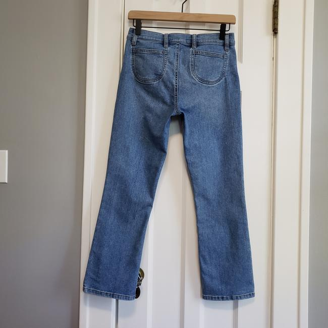 Current/Elliott Blue Medium Wash The Scooped Ruby Crop Capri/Cropped Jeans Size 26 (2, XS) Current/Elliott Blue Medium Wash The Scooped Ruby Crop Capri/Cropped Jeans Size 26 (2, XS) Image 3