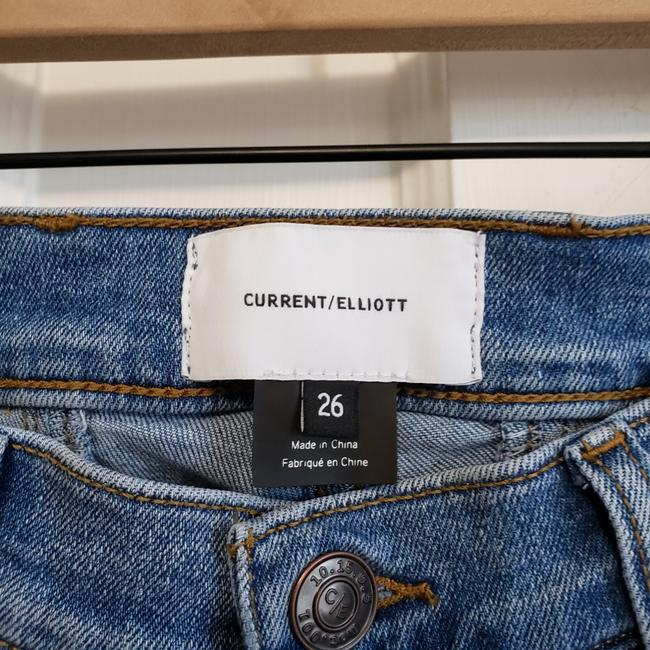 Current/Elliott Blue Medium Wash The Scooped Ruby Crop Capri/Cropped Jeans Size 26 (2, XS) Current/Elliott Blue Medium Wash The Scooped Ruby Crop Capri/Cropped Jeans Size 26 (2, XS) Image 6