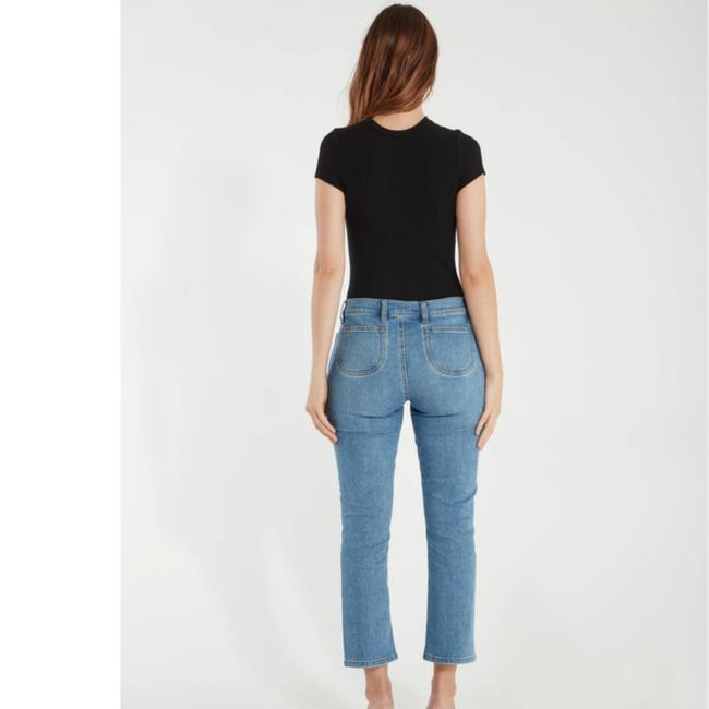 Current/Elliott Blue Medium Wash The Scooped Ruby Crop Capri/Cropped Jeans Size 26 (2, XS) Current/Elliott Blue Medium Wash The Scooped Ruby Crop Capri/Cropped Jeans Size 26 (2, XS) Image 9