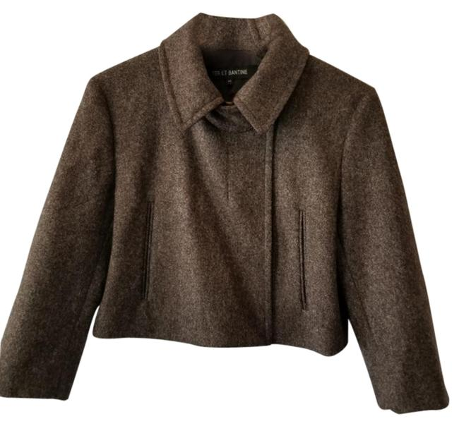 Item - Brown Cropped Jacket Size 8 (M)