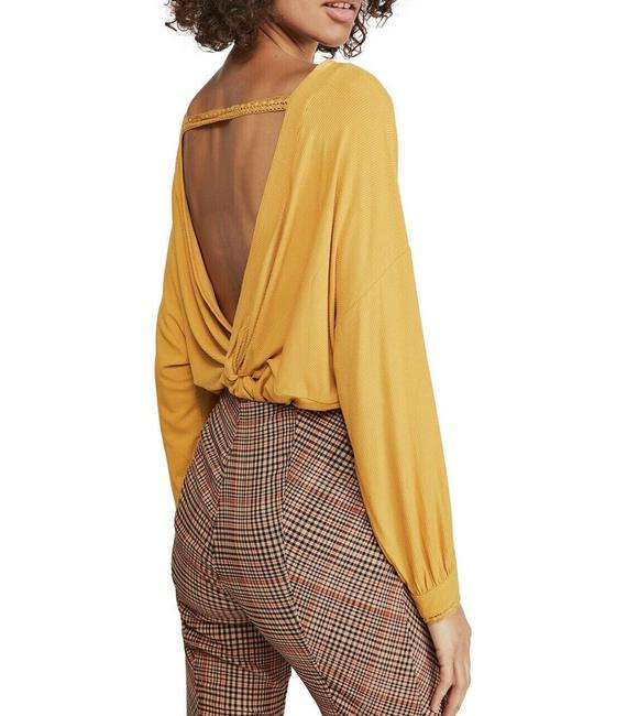 Item - Shimmy Shake - Yellow Small Women's Color: Gold Top