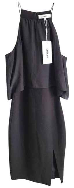 LIKELY Black Allen Mid-length Cocktail Dress Size 0 (XS) LIKELY Black Allen Mid-length Cocktail Dress Size 0 (XS) Image 1
