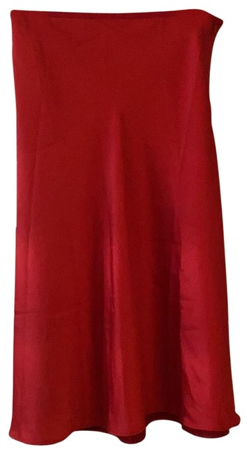 Item - Red Skirt Size 6 (S, 28)