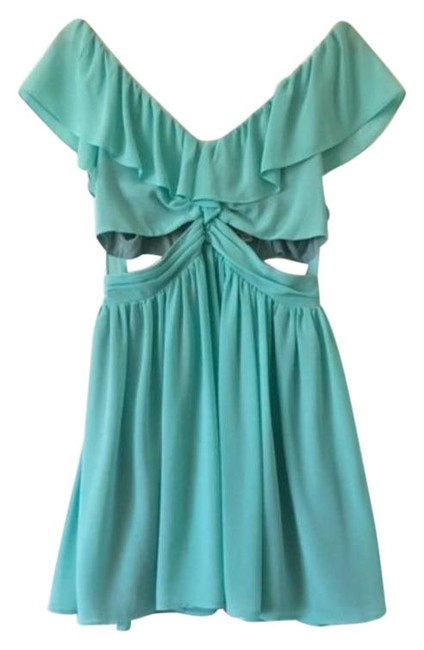 Item - Aqua Lost Without Short Night Out Dress Size 8 (M)