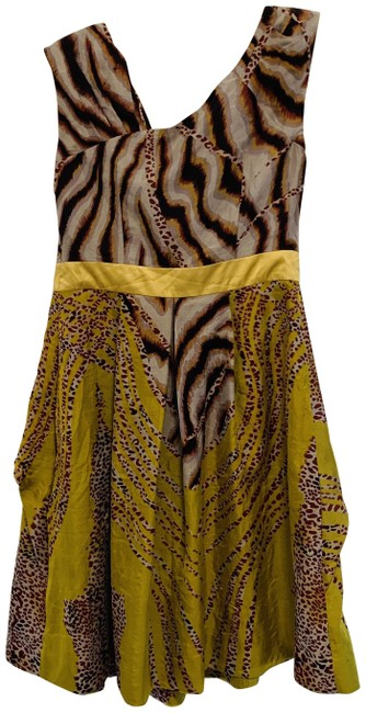 Item - Multi-color 730 Embellished Mid-length Night Out Dress Size 4 (S)