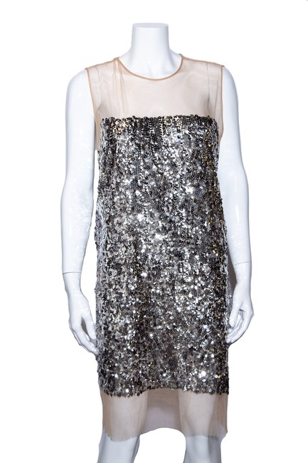 Item - Sequin Sleeveless 40 Mid-length Night Out Dress Size 8 (M)