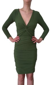 BCBG Max Azria short dress Green on Tradesy