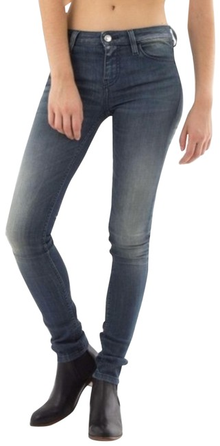 Item - Blue/Gray Fitte Stone Skinny Jeans Size 28 (4, S)