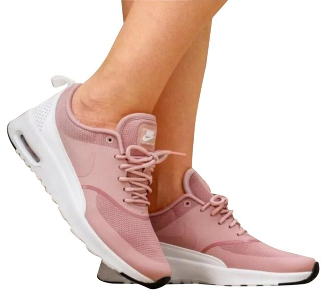 Item - Pink Women's Air Max Thea Rust Equipped with Comfortable Cushioning and Is Designed with A Sleek For Sneakers Size US 7.5 Narrow (Aa, N)