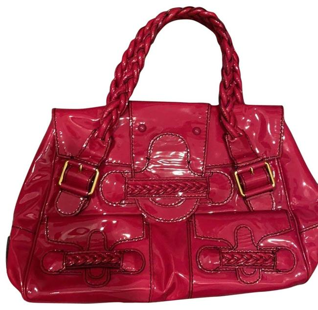 Item - Hot Pink Patent Leather Baguette