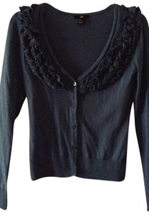H&M Cute Ruffled Neckline Cardigan