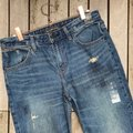 Abercrombie & Fitch Blue Medium Wash Ankle Straight Leg Jeans Size 26 (2, XS) Abercrombie & Fitch Blue Medium Wash Ankle Straight Leg Jeans Size 26 (2, XS) Image 5
