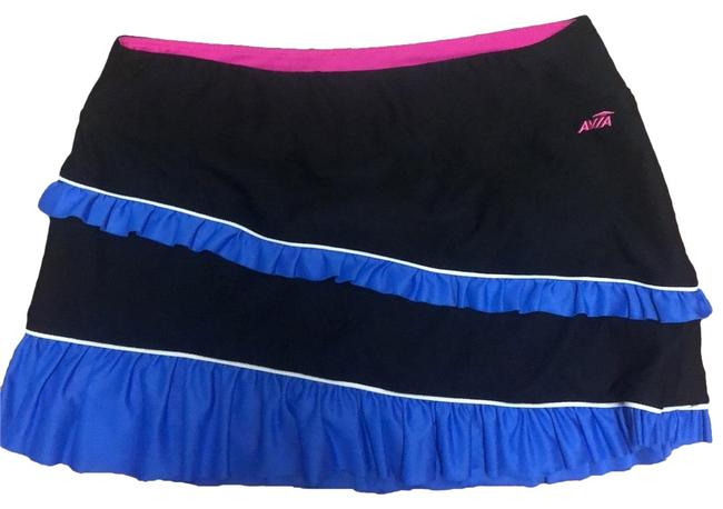Item - Black Blue and Pink Ruffled Tennis Activewear Bottoms Size 10 (M)