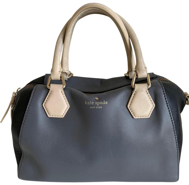 Item - Crossbody Pippa In Black and Colorblock Gray Leather Satchel
