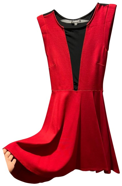 Item - Red Short Night Out Dress Size 00 (XXS)