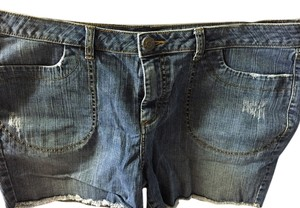 A N V E Cutoff Shorts denim