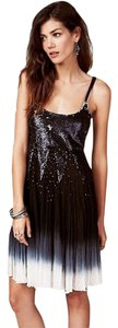 Free People Supernova Sequin Embellishments Braided Straps Dip-dye Dress