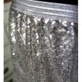 Anthropologie Silver Meribeth Sequined Lace New Skirt Size 12 (L, 32, 33) Anthropologie Silver Meribeth Sequined Lace New Skirt Size 12 (L, 32, 33) Image 11