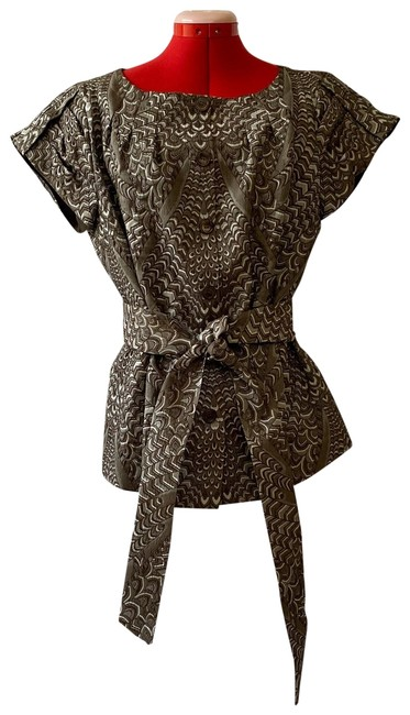 Item - Brown and Gray Skirt Suit Size 10 (M)
